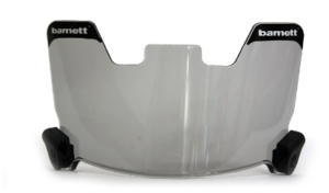 Barnett Football Eyeshield / Visor, Tinted 10% Original Conform