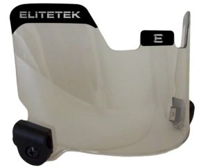 Elitetek Football Eye-shield Visor (Tinted Mirror)