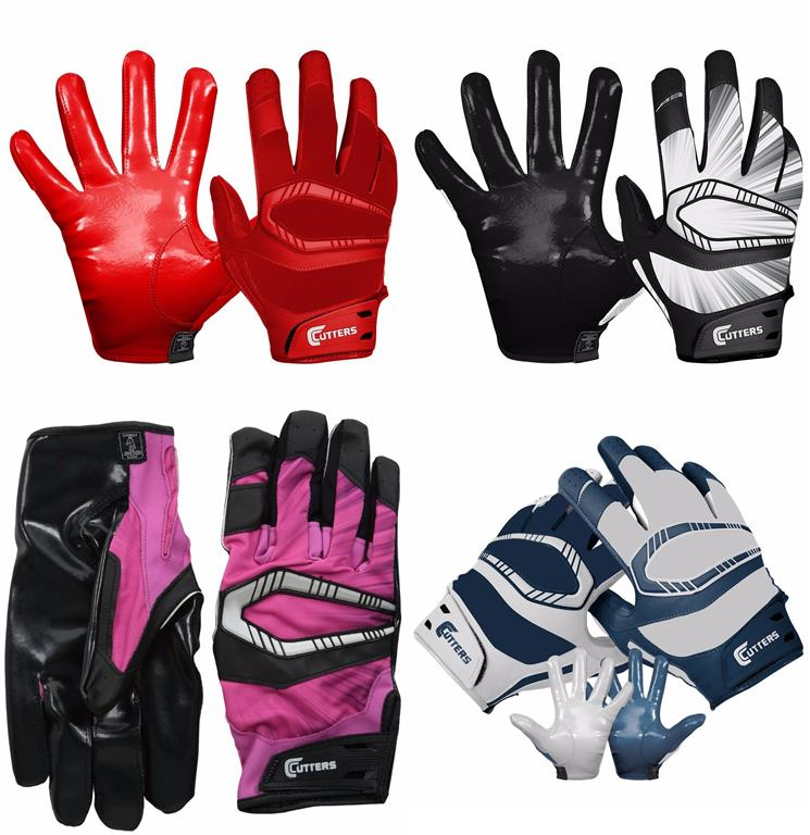Cutters Gloves REV Pro Receiver -Glove Pair