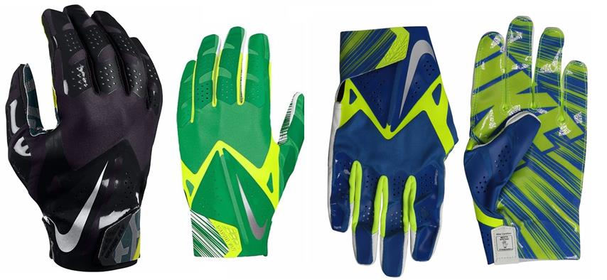 Men's Nike Vapor Fly Reciever Football Glove