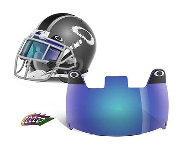 Oakley Football Eyeshield - Blue buy online