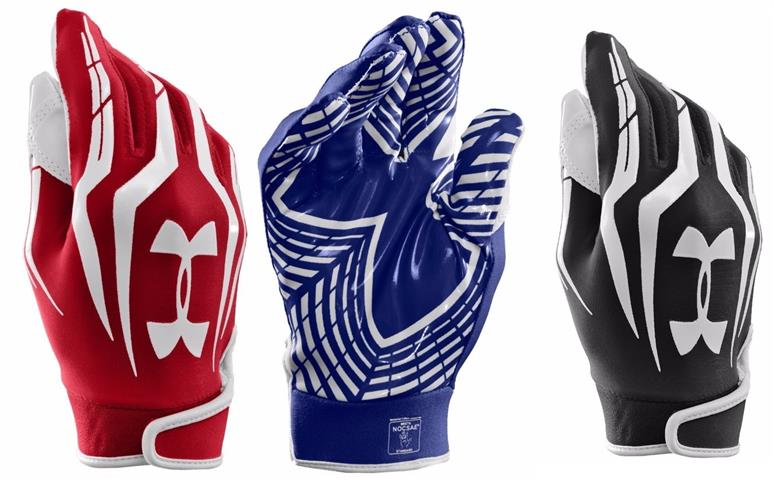 Under Armour Men's UA F3 Full Finger Football Gloves