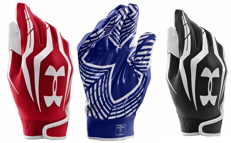 Under Armour Men's UA F3 Full Finger Football Gloves