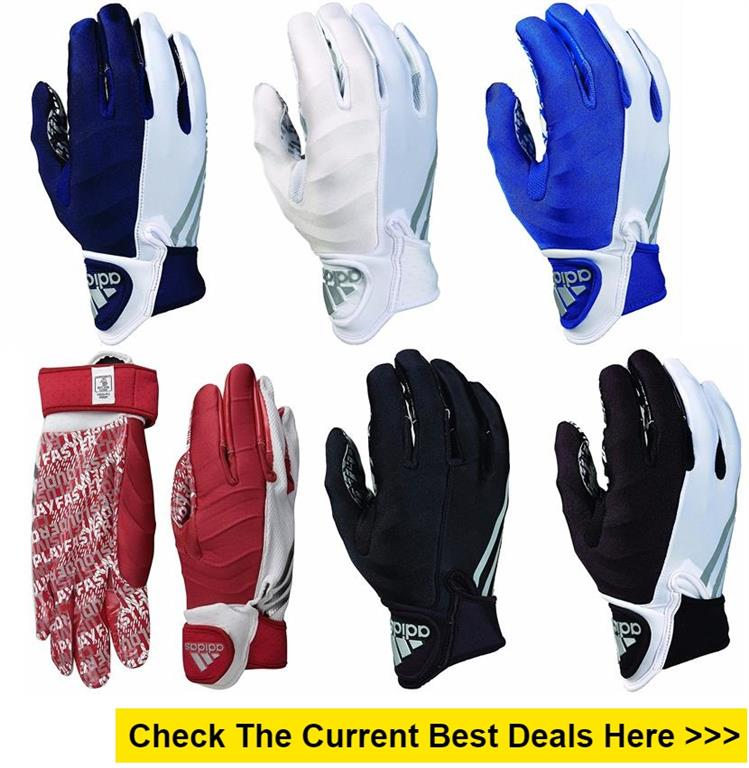 adidas CrazyQUICK 3.0 Adult Padded Receiver's Football Gloves reviews