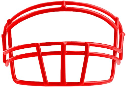 Rawlings Momentum Plus football helmet facemask Youth Scarlet