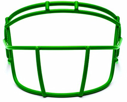 Kelly Green Xenith Football Facemask