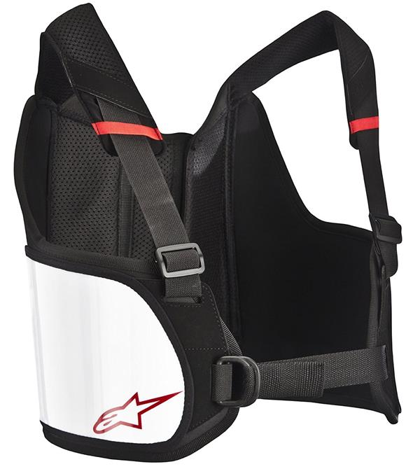 Alpinestars Black White Small Large Bionic Rib Protector