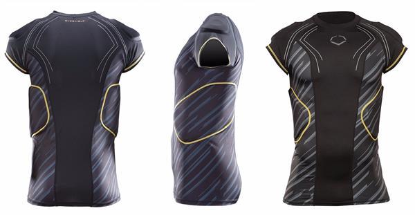 EvoShield CustomTech EvoAlpha Football Rib Shirt