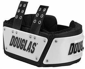 New Douglas Football Mens Adjustable SP 6 RIB Spine Back Pads Pad Combo