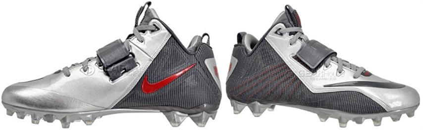 Nike Cj Elite 2 Td Mid Football Cleats 643195-006 Mens 12