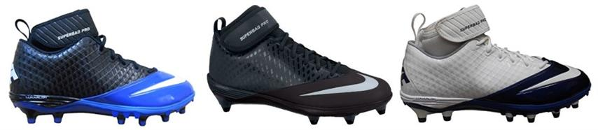 Nike Lunar Super Bad Pro TD Men's Football Cleats