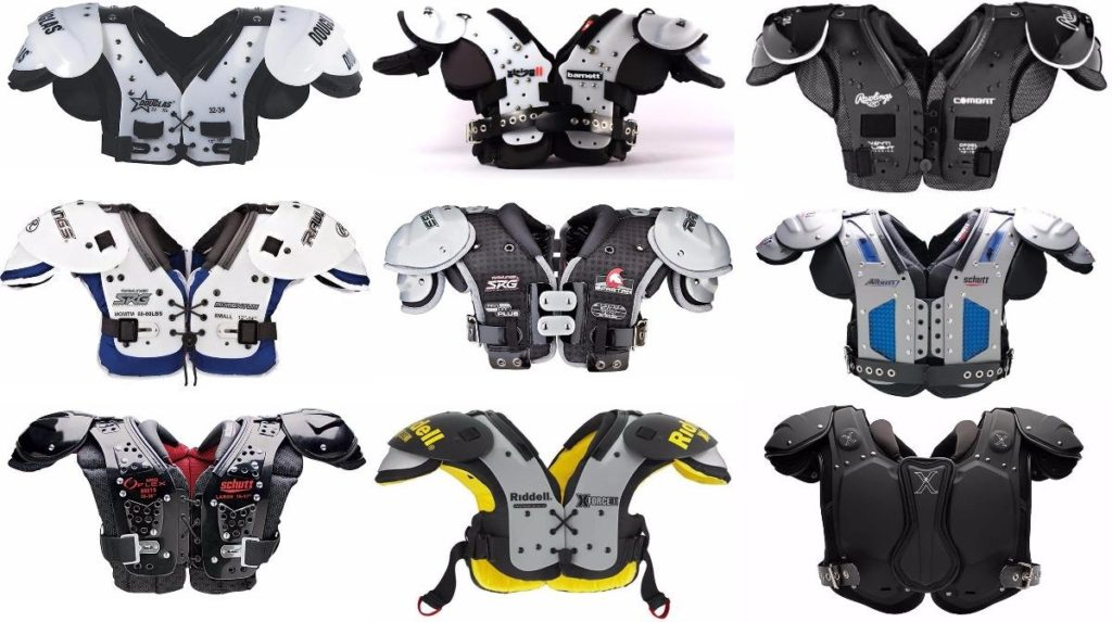 The Top Football Shoulder Pads Reviews and Rating For Youth and Adult