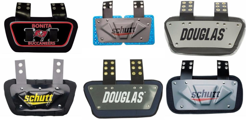 Top Football Back Plates For Youth and Adults Reviews
