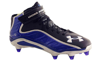 Under Armour FIERCE HAVOC MID D Mens Football Shoe BLBKSL 8.5M