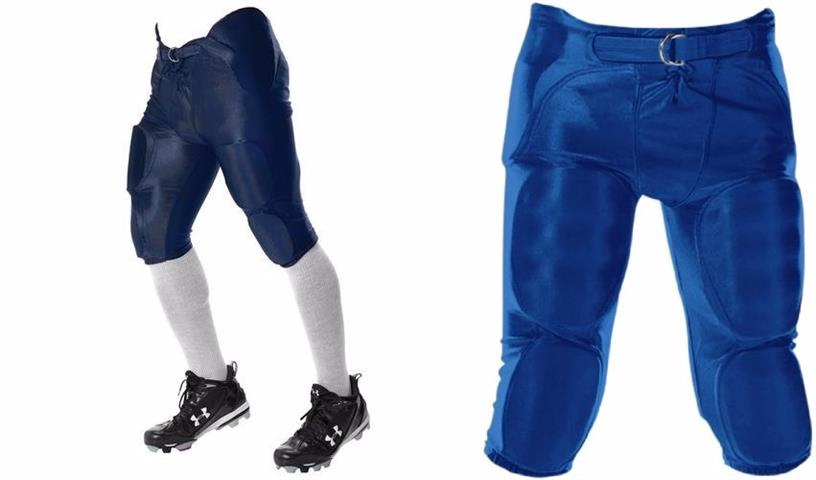 Youth Dazzle Football Pants with Pads built in EA