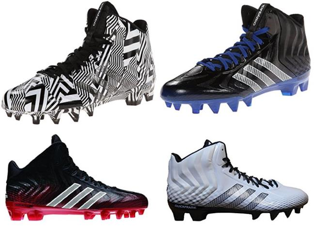 adidas Performance Men's Crazyquick Mid Football Cleat