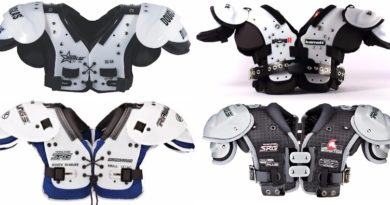 Which Types and Brands of Football Shoulder Pads To Choose