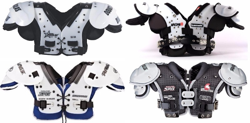 Best Types of Football Shoulder Pads