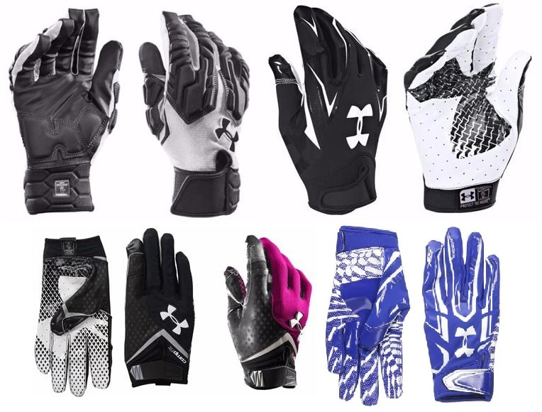 Best and Cheap Under Armour Football Gloves