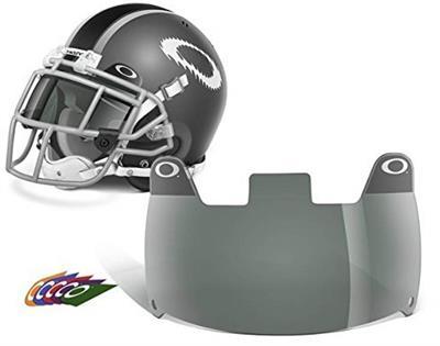 Oakley GSH42-005 Football Shield, Grey, One Size