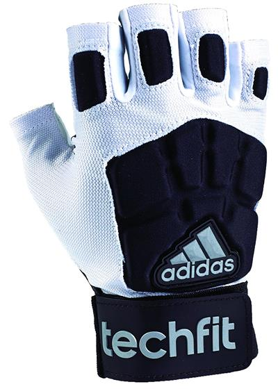 adidas TechFit Lineman Football Half Finger Gloves